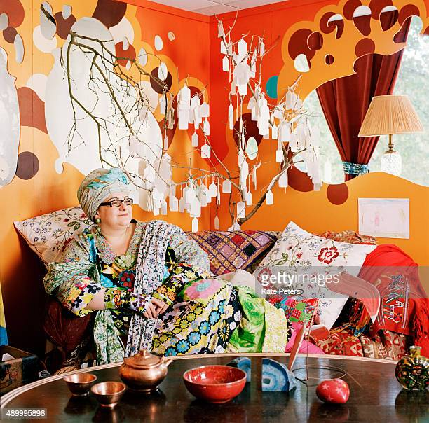 Founder of Kids Company Camila Batmanghelidjh is photographed on June 15 2009 in London England