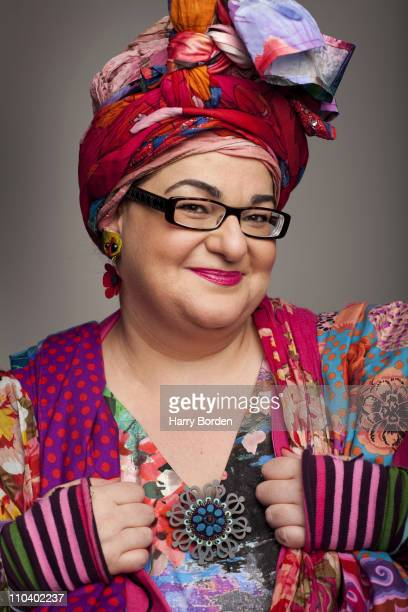 Founder of Kids Company Camila Batmanghelidjh poses for a portrait shoot in London on April 8 2010