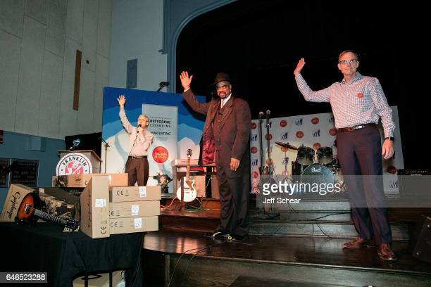 Founder of Kids Rock David Wish, Nick Colionne, and Dick Hoffman speak at Chicago Public School Announces Music Program Expansion With Little Kids...