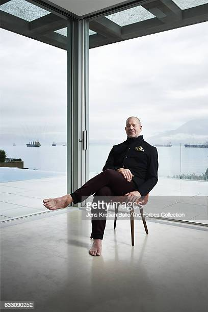 Founder of Lululemon Athletica Chip Wilson is photographed for Forbes Magazine on October 26 2016 in Vancouver Canada PUBLISHED IMAGE CREDIT MUST...