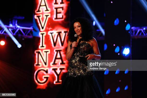 Founder of MOBO Kanya King speaks on stage at the MOBO Awards at First Direct Arena Leeds on November 29 2017 in Leeds England
