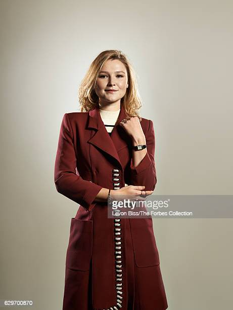 Founder of My Flash Trash Amber Atherton is photographed for Forbes Magazine on January 8 2016 in London England PUBLISHED IMAGE CREDIT MUST READ...