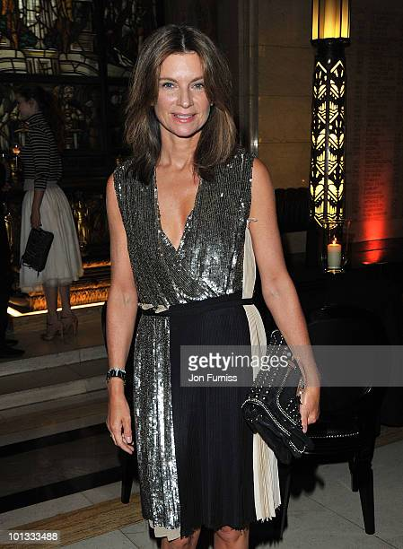 Founder of NetAPorter Natalie Massenet attends the Quintessentially Awards at Freemasons Hall on June 1 2010 in London England