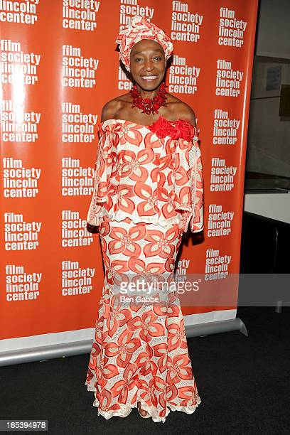 Founder of New York African Film Festival Mahen Bonetti attends 20th New York African Film Festival Opening Night on April 3 2013 in New York United...
