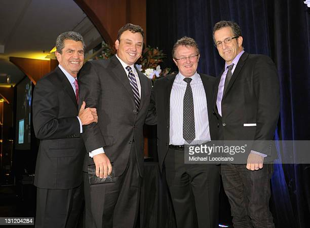 Founder of Phoenix House Mitch Rosenthal President and CEO of Lord Taylor Brendan L Hoffman CEO of Phoenix House Howard Meitiner and designer Kenneth...