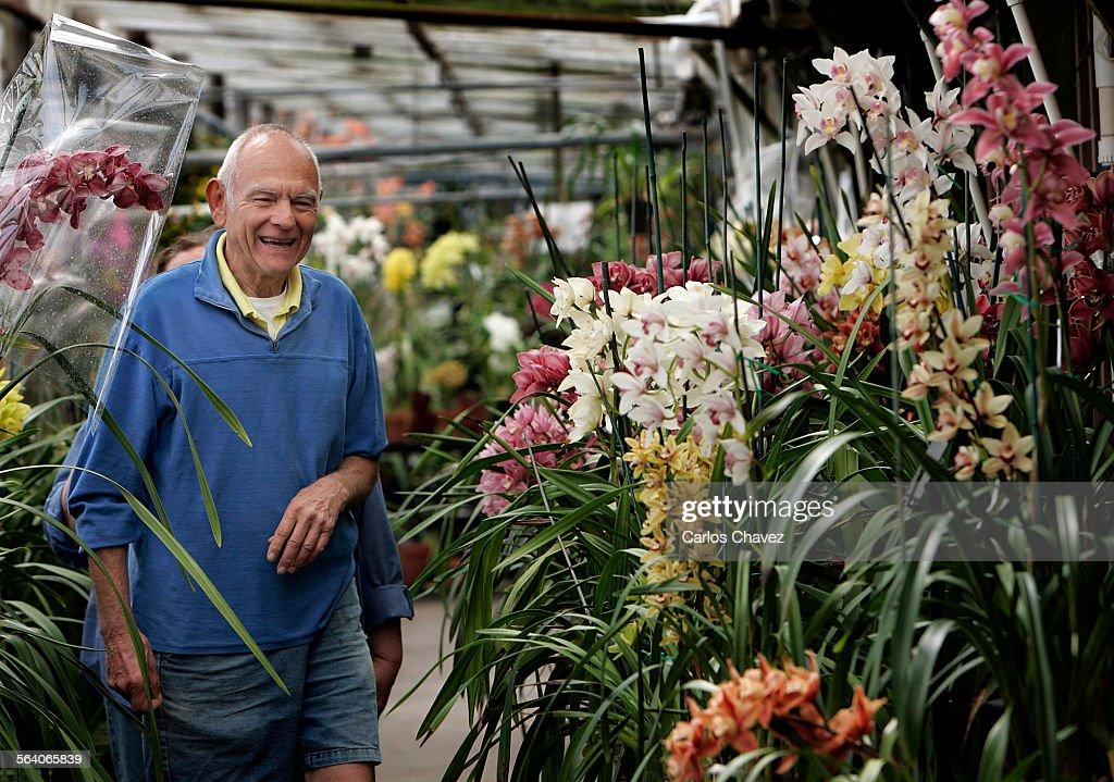 Founder Of Santa Barbara Orchid Estates Paul Gripp Walks