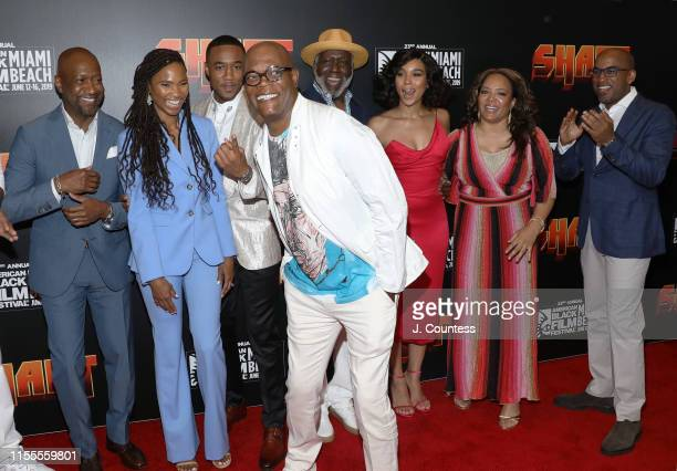 Founder of the American Black Film Festival Jeff Friday, General Manager of the American Black Film Festival Nicole Friday, Jessie T. Usher, Samuel...