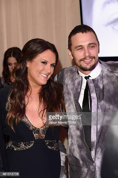 Founder of The Art of Elysium Jennifer Howell and actor James Franco attend the 8th Annual HEAVEN Gala presented by Art of Elysium and Samsung Galaxy...