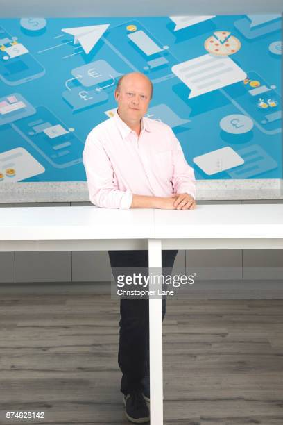 Founder of the Circle Jeremy Allaire is photographed for The London Times on August 15 2017 in Boston Massachusetts PUBLISHED IMAGE