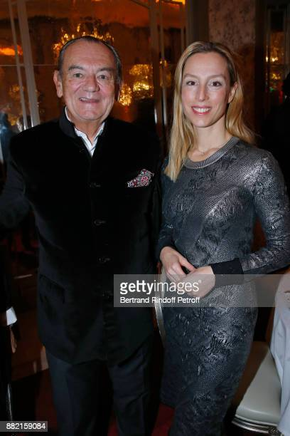 Founder of the Cooking Chefs' Club of the Heads of States Gilles Bragard and Adelaide de ClermontTonnerre attend the Charity Gala to Benefit the...