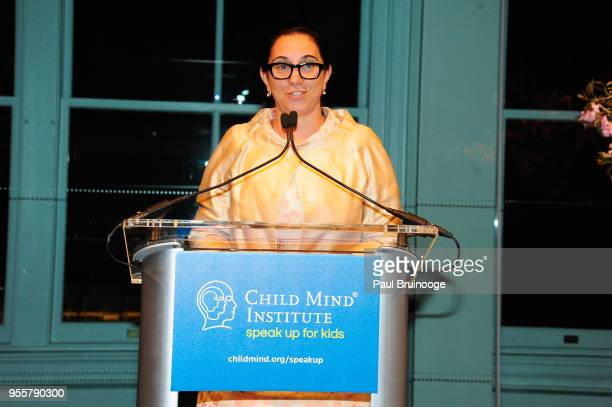 Founder of the Crisis Text Line Nancy Lublin speaks onstage during the 2018 Change Maker Awards at Carnegie Hall on May 7 2018 in New York City