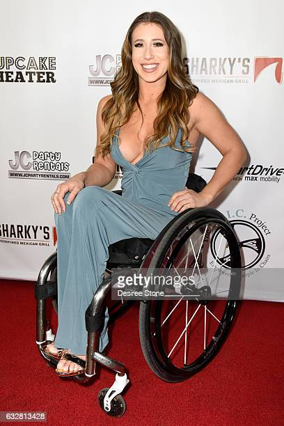 Founder of The EPIC project Chelsie Hill attends the official launch of the EPIC Project at Cupcake Theater on January 26 2017 in Los Angeles...