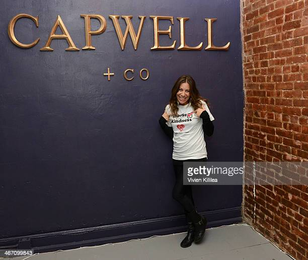 Founder of The Farley Project Elissa Kravetz attends Sarah Boyd x CapwellCo Jewelry Collaboration NYFW Launch on February 5 2014 in New York City