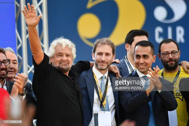 Founder of the Five Star Movement Italian comedian and political activist Beppe Grillo M5S prominent figure Italian entrepreneur and political...