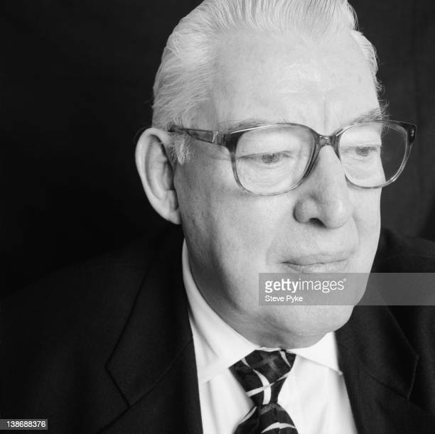 Founder of the Free Presbyterian Church of Ulster and Leader of the Democratic Unionist Party of Northern Ireland, the Reverend Ian Paisley, London,...