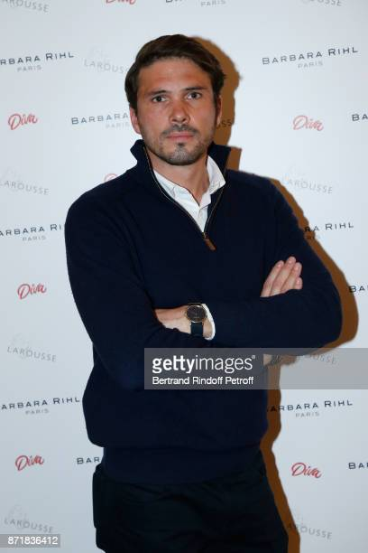 Founder of 'The French Publicist' Alexis SurreFenaille attends Reem Kherici signs her book 'Diva' at the Barbara Rihl Boutique on November 8 2017 in...