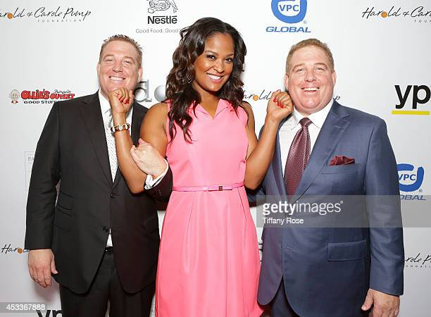 Founder of the Harold Carole Pump Foundation Dana Pump boxer Laila Ali and founder of the Harold Carole Pump Foundation David Pump attend 14th Annual...