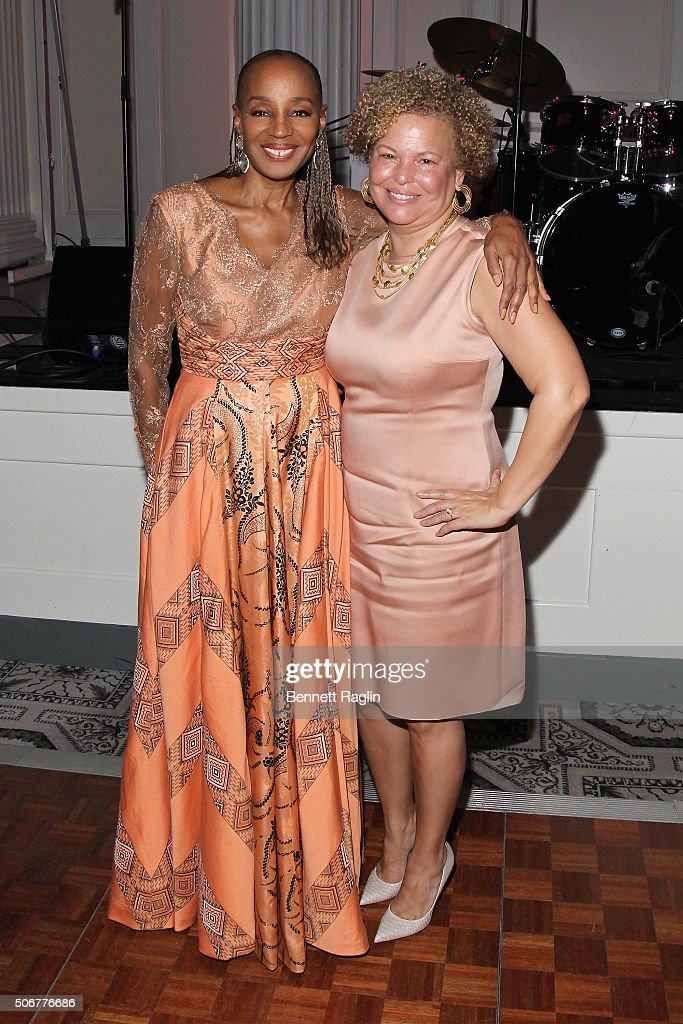 Founder of the National CARES Mentoring Movement, Susan L. Taylor (L) and Chairman and Chief Executive Officer of BET, Debra Lee attend the National CARES Mentoring Movement hosts the 'For the Love Of Our Children Gala' on January 25, 2016 in New York City.