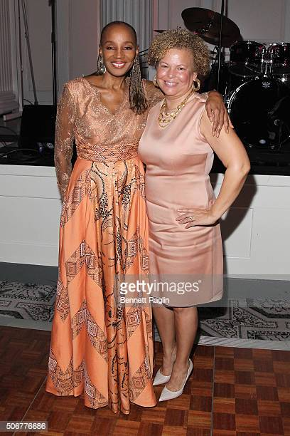 Founder of the National CARES Mentoring Movement, Susan L. Taylor and Chairman and Chief Executive Officer of BET, Debra Lee attend the National...