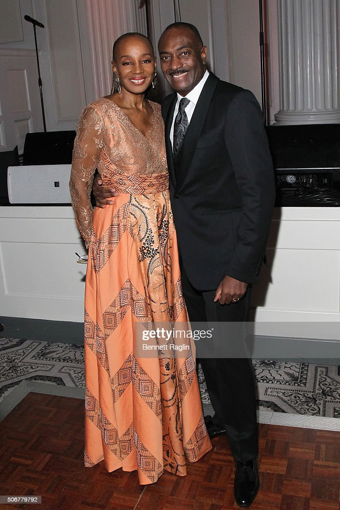 Founder of the National CARES Mentoring Movement, Susan L. Taylor (L) and Chairman of National CARES Mentoring Movement, Reginald Van Lee attends the National CARES Mentoring Movement hosts the 'For the Love Of Our Children Gala' on January 25, 2016 in New York City.
