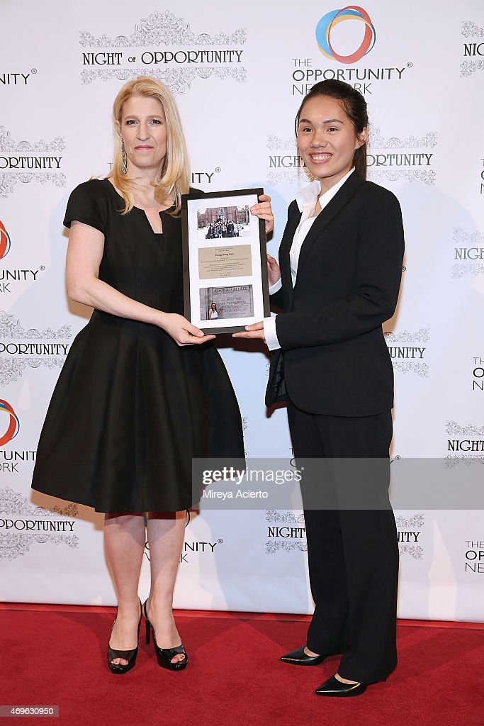 Founder of the Opportunity Network, Jessica Pliska and Hong