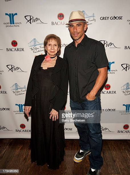 Founder of the Piven Theatre Workshop Joyce Piven and Rockit Ranch CEO Billy Dec attend the Piven Theatre Workshop Gala at the Rockbit Bar Grill on...