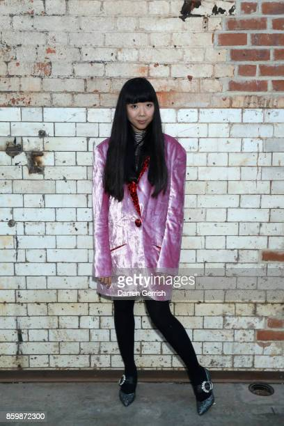 Founder of The Style Bubble Susie Lau attends the Secret Lectures London presented by Dazed Huawei at Wapping Hydraulic Power Station on October 10...