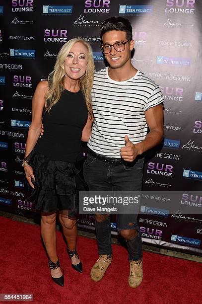 Founder of The Teen Project Lauri Burns and actor Asaf Goren attend Teen Project LA's 2016 Teen Dream at Sur Restaurant on July 28 2016 in Los...