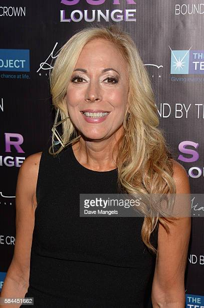 Founder of The Teen Project Lauri Burns attends Teen Project LA's 2016 Teen Dream at Sur Restaurant on July 28 2016 in Los Angeles California