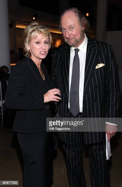 Founder of the The Daily Beast Tina Brown and Ed Victor attend the 2nd annual Martha Stewart Center for Living at Mount Sinai Medical Center Gala at...