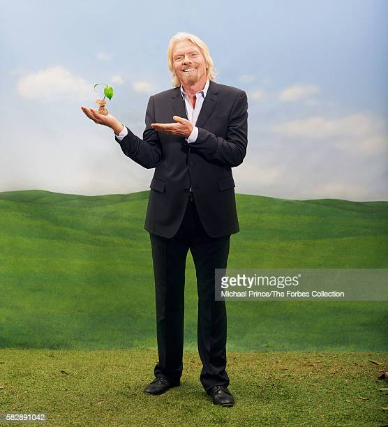 Founder of the Virgin Group Richard Branson is photographed for Forbes Magazine in February 2013 in New York City PUBLISHED IMAGE CREDIT MUST READ...