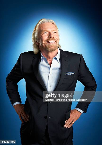 Founder of the Virgin Group Richard Branson is photographed for Forbes Magazine in February 2013 in New York City CREDIT MUST READ Michael Prince/The...