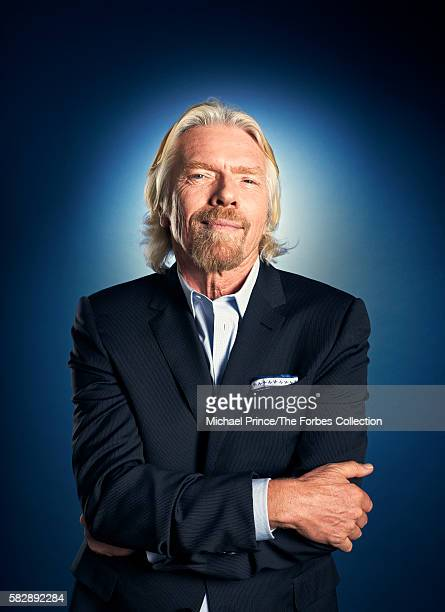 Founder of the Virgin Group, Richard Branson is photographed for Forbes Magazine in February 2013 in New York City. PUBLISHED IMAGE. CREDIT MUST...