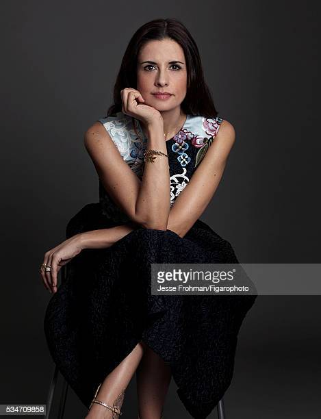 Founder of the website EcoAge and the Green Carpet Challange Livia Firth is photographed for Madame Figaro on December 2 2015 in New York City...