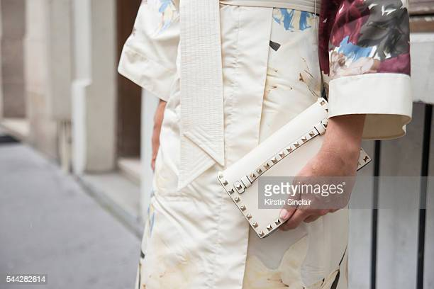 Founder of the Webster boutique Laure Heriard Dubreuil wears all Valentino on day 1 of Paris Collections Men on June 22 2016 in Paris France Laure...