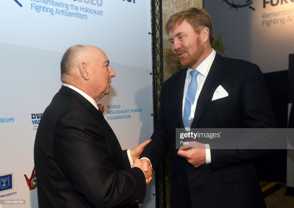 World Leaders In Jerusalem For Fifth World Holocaust Forum : Nieuwsfoto's