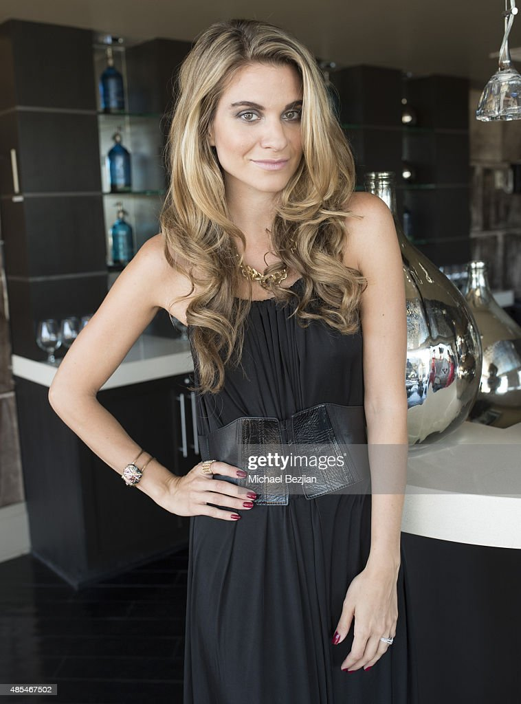 Founder of themccordlist.com, Rachel McCord poses for portriat at Rachel McCord Blogger Party on August 27, 2015 in West Hollywood, California.
