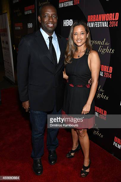 Founder of Urbanworld Film Festival, Stacy Spikes and Urbanworld Film Festival Executive Producer, Gabrielle Glore attend BEYOND THE LIGHTS opening...