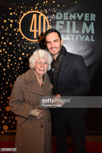 Founder of Wish of a Lifetime Jeremy Bloom and Donna Wheeler arrives for a screening of 'Molly's Game' at the 40th annual Denver Film Festival on...
