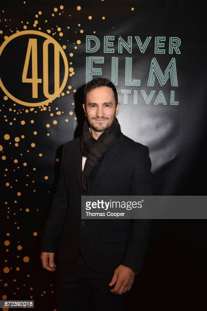 Founder of Wish of a Lifetime Jeremy Bloom arrives for a screening of 'Molly's Game' at the 40th annual Denver Film Festival on November 9 2017 in...