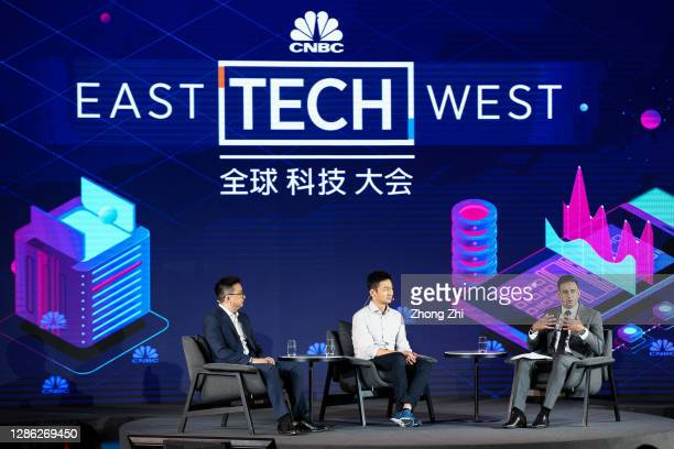 Founder & President of PKFARE Jason Song, Co-founder and Chief Business Officer of PingPong Payments Ning Wang and Senior Correspondent of CNBC Arjun...