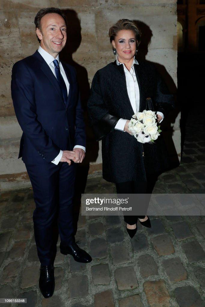 "2018 Prize Of The ""Stephane Bern - Institut De France"" Foundation In Paris : News Photo"