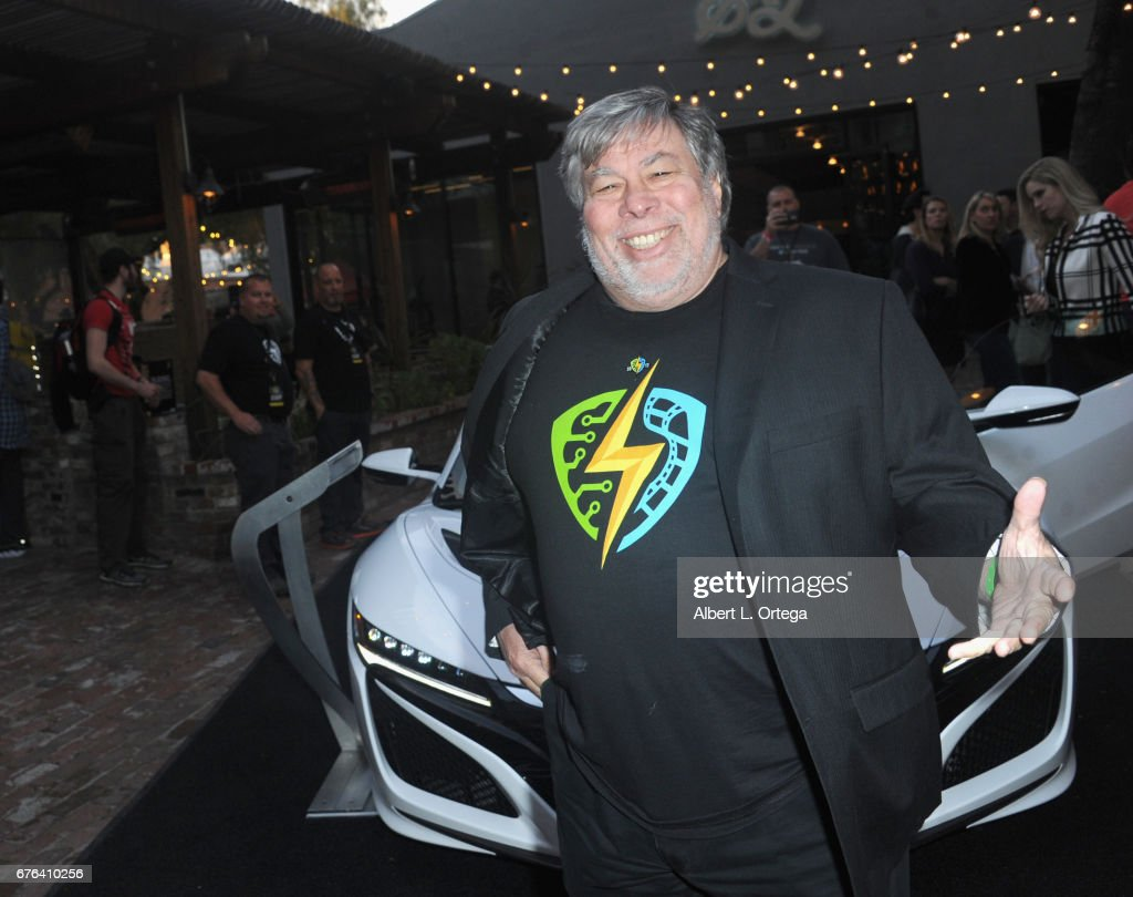 Founder Steve Wozniak At The Woz Party Meet And Greet With Silicon