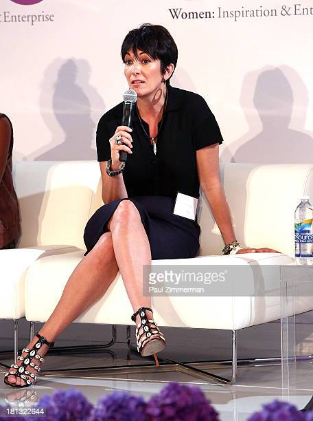Founder Terrama Ghislaine Maxwell attends the 4th Annual WIE Symposium at Center 548 on September 20 2013 in New York City