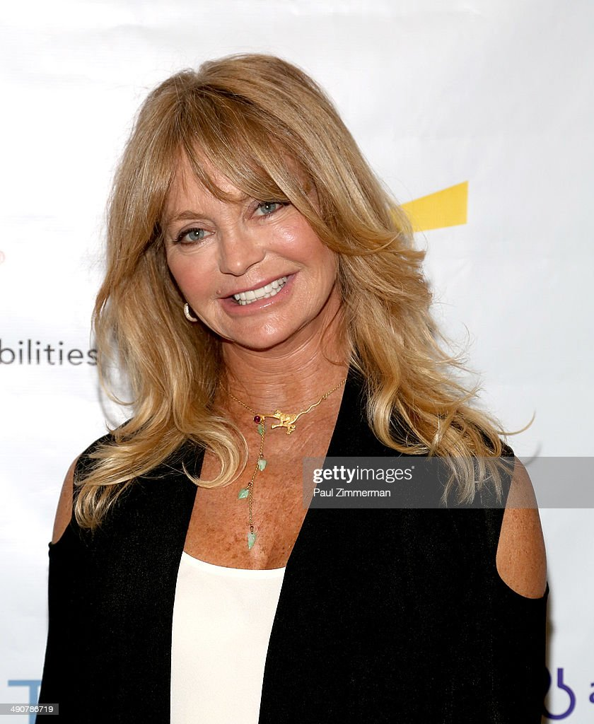 Founder, The Hawn Foundation, Goldie Hawn attends Forbes Women's Summit:The Entrepreneurship of Everything at 583 Park Avenue on May 15, 2014 in New York City.