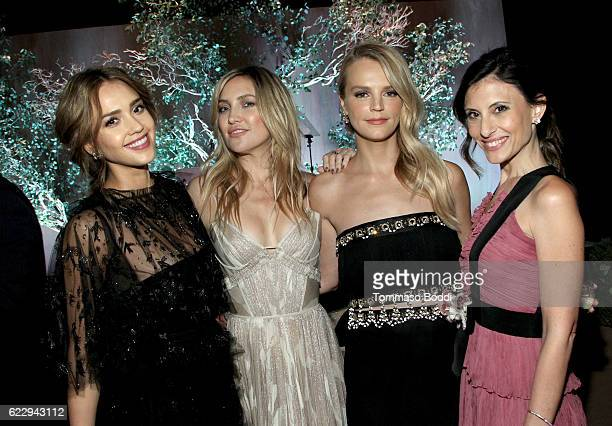 Founder The Honest Company Jessica Alba actress Kate Hudson and copresidents of Baby2Baby Kelly Sawyer Patricof and Norah Weinstein attend the Fifth...