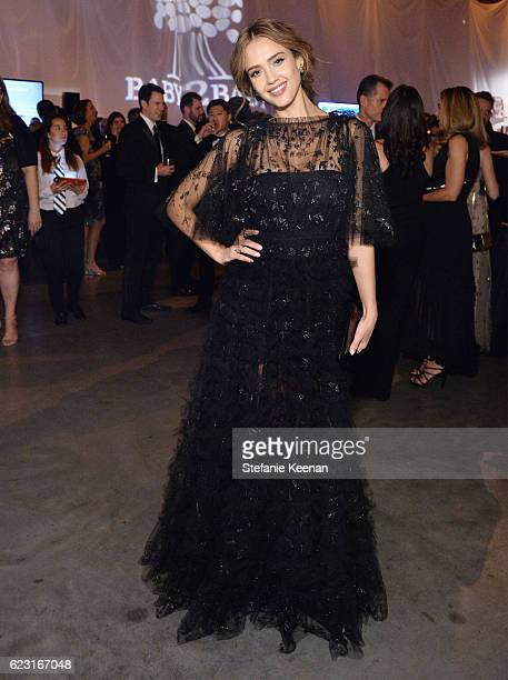 Founder The Honest Company Jessica Alba attends the Fifth Annual Baby2Baby Gala Presented By John Paul Mitchell Systems at 3LABS on November 12 2016...