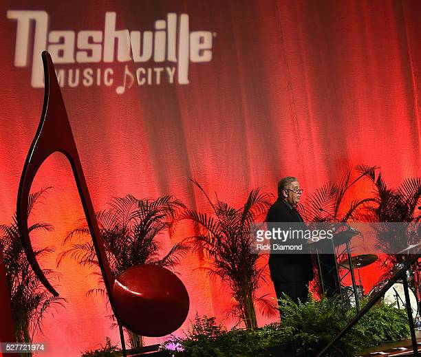 Founder Vector Management/CVC Board Chair Ken Levitan attends Nashville's National Tourism Week Hospitality Celebration at Music City Center on May 3...