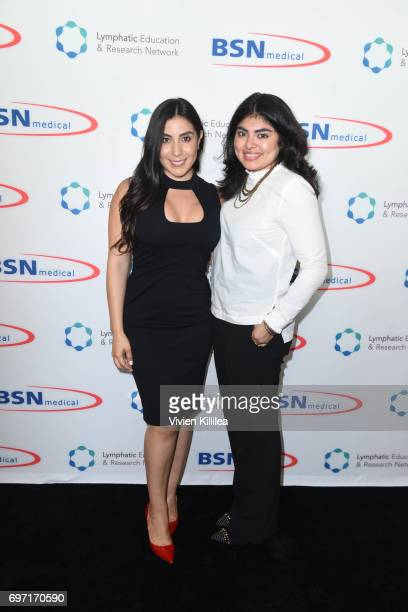 Founder/CEO of Stacey Ruiz Events Stacey Ruiz and Robin Elias attend Academy Award Winner and LERN Spokesperson Kathy Bates Hosts Reception On The...