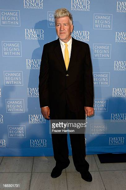 Founder/Director David Lynch attends the 'Meditation In Education' Global Outreach Campaign at The Billy Wilder Theater at the Hammer Museum on April...